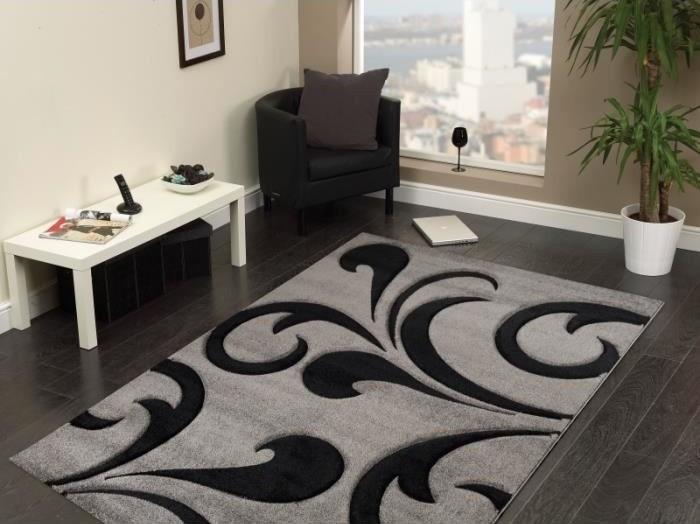 Tapis frisee effet 3d contemporain design harlequin for Tapis shaggy avec canapés duvivier en solde