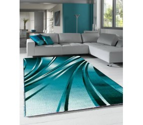 Tapis tendance vintage Blue Madison