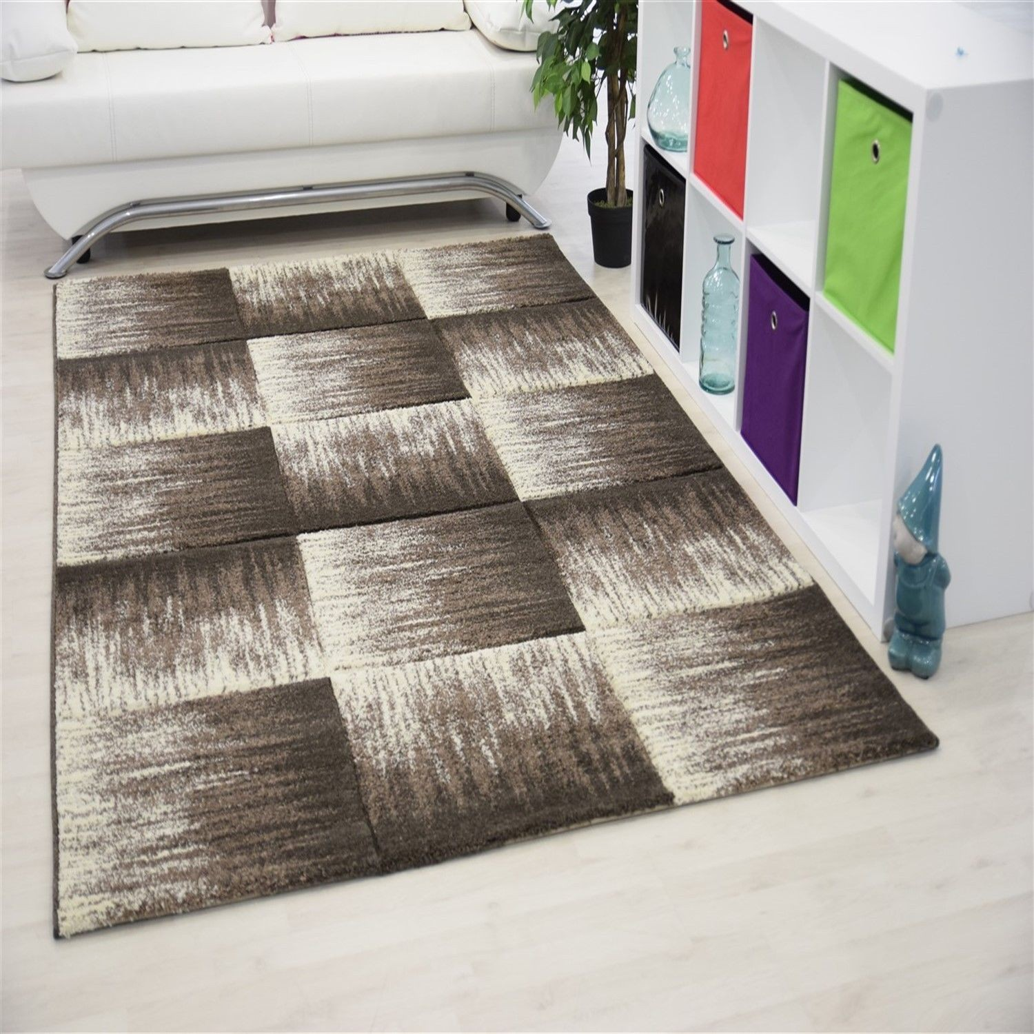Salon oriental moderne blanc for Tapis decoratif pour salon