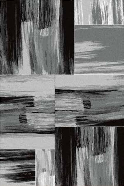 tapis vintage gris pour salon crystal. Black Bedroom Furniture Sets. Home Design Ideas