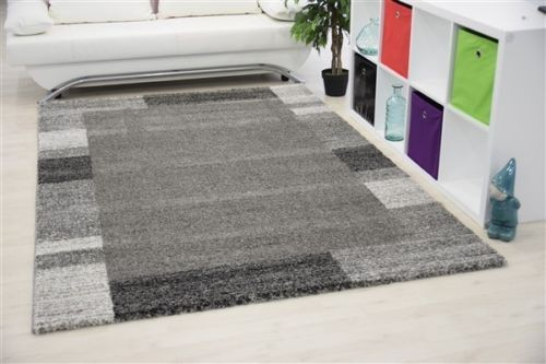 tapis plat rectangle uni gris alvin pas cher. Black Bedroom Furniture Sets. Home Design Ideas