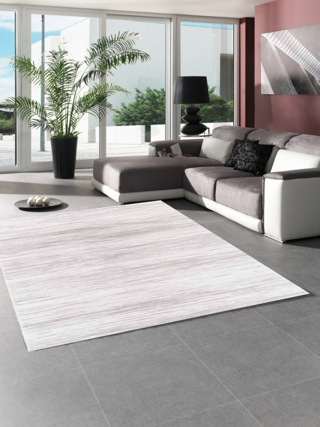 tapis design gris en acrylique starfloor pas cher. Black Bedroom Furniture Sets. Home Design Ideas