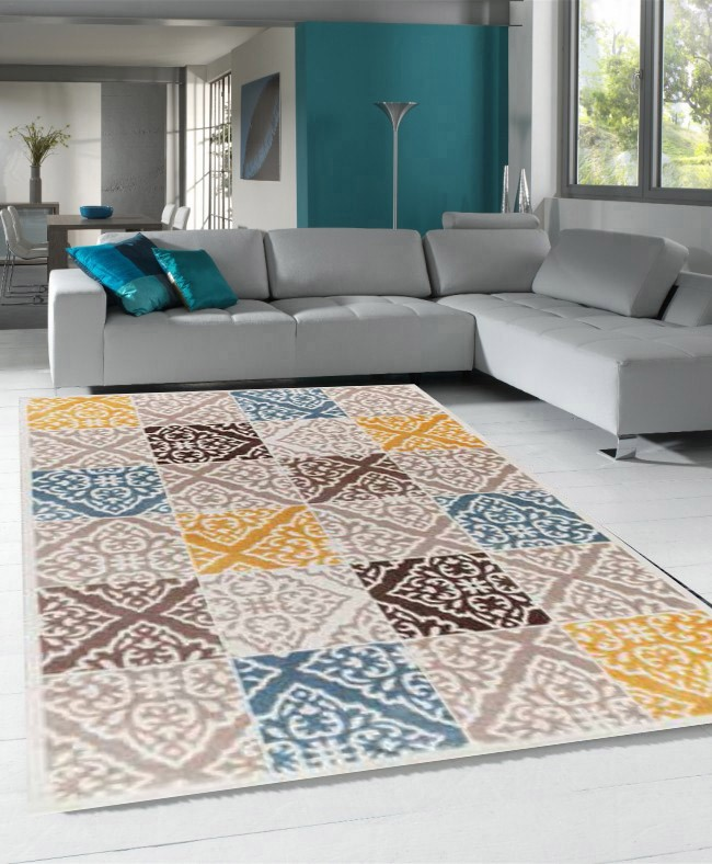 Beautiful Tapis Salon Orange Et Marron Ideas - House Design ...