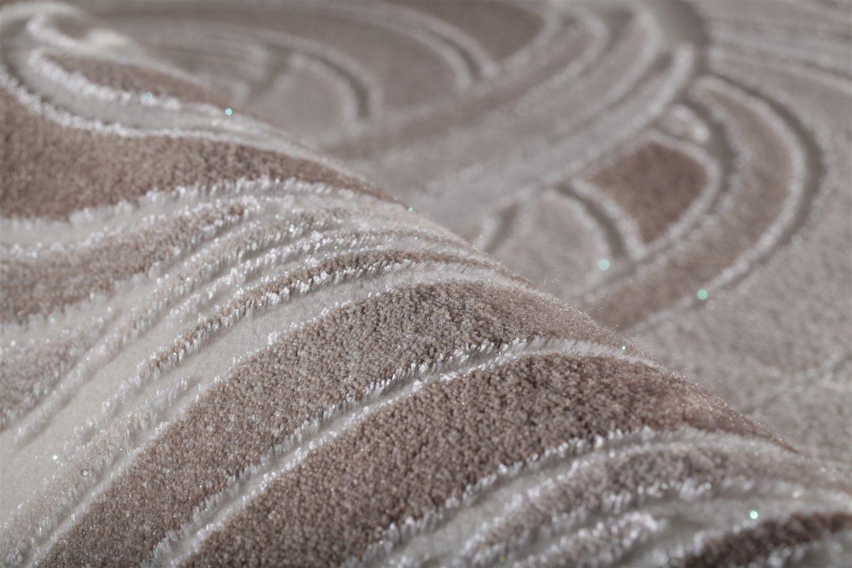 Tapis plat patchwork en acrylique marron beige mirage pas cher - Tapis beige pas cher ...