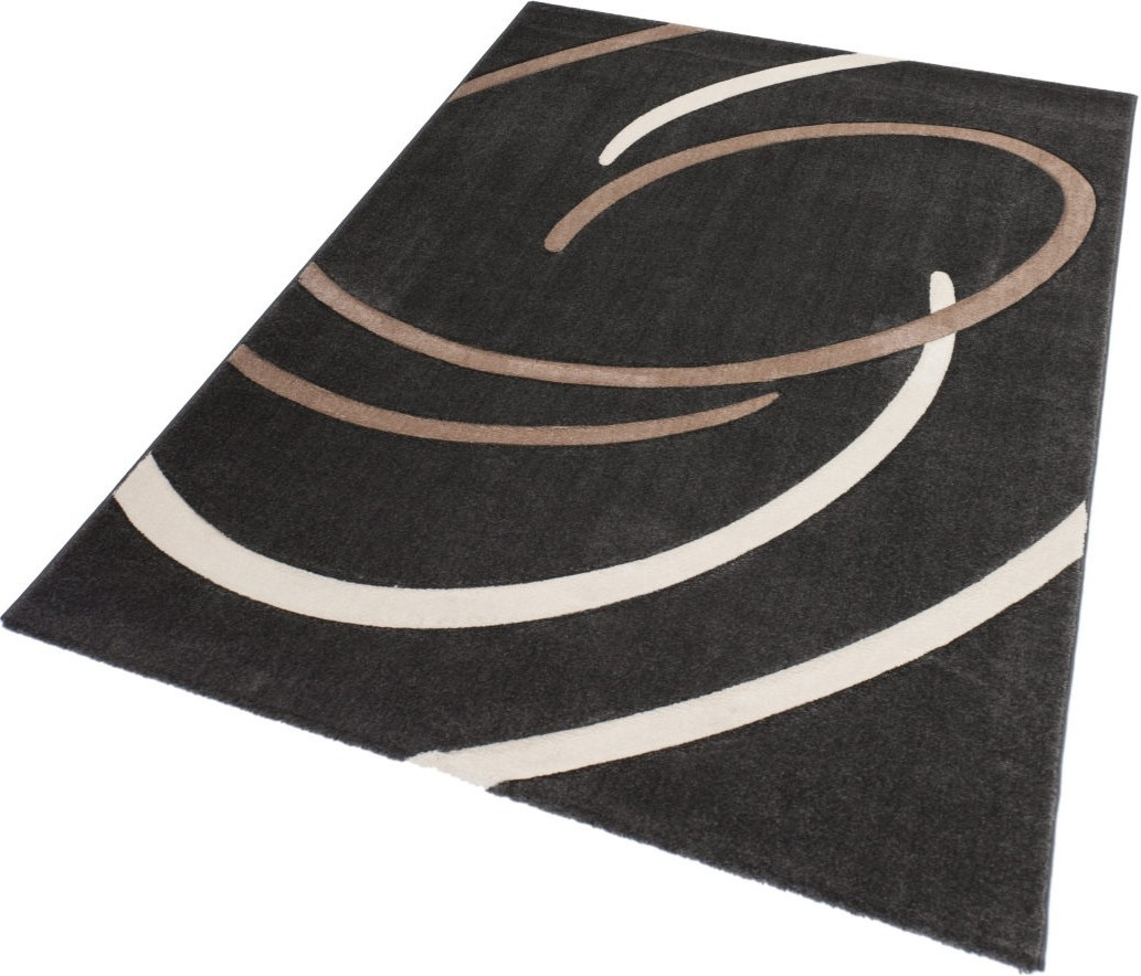 tapis effet 3d look tendance et design platin beige elegant pas cher. Black Bedroom Furniture Sets. Home Design Ideas