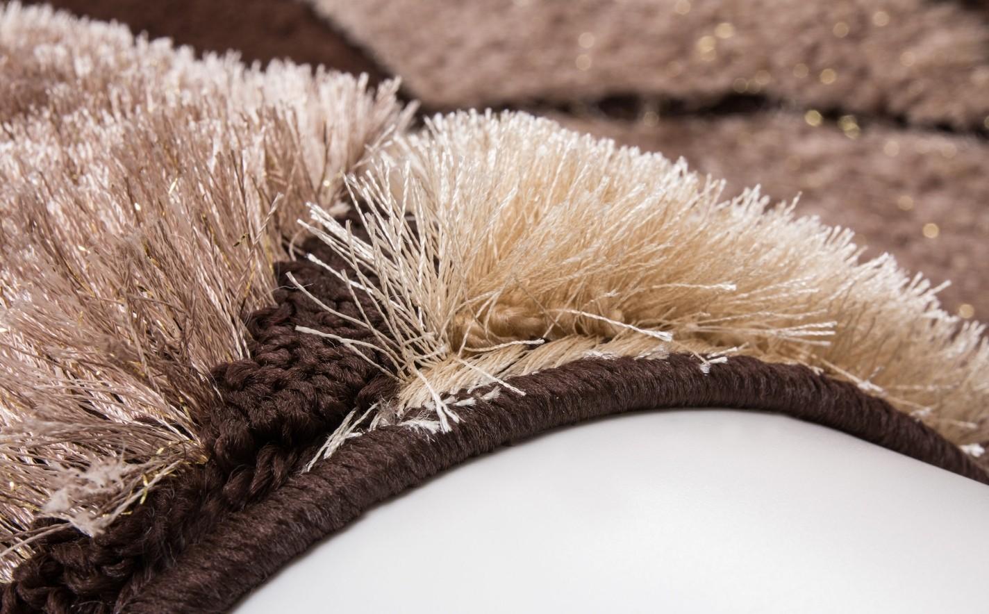 tapis shaggy beige pas cher tapis beige marron tapis marron et beige tapis - Tapis Color Pas Cher