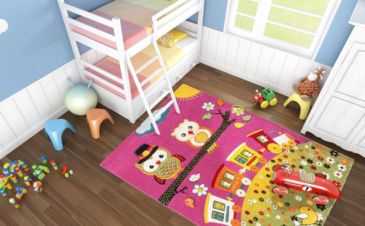 tapis pour enfants. Black Bedroom Furniture Sets. Home Design Ideas