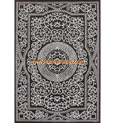 Tapis gris clair pas cher, grand tapis gris, tapis gris foncé, tapis design gris, tapis jaune et gris,