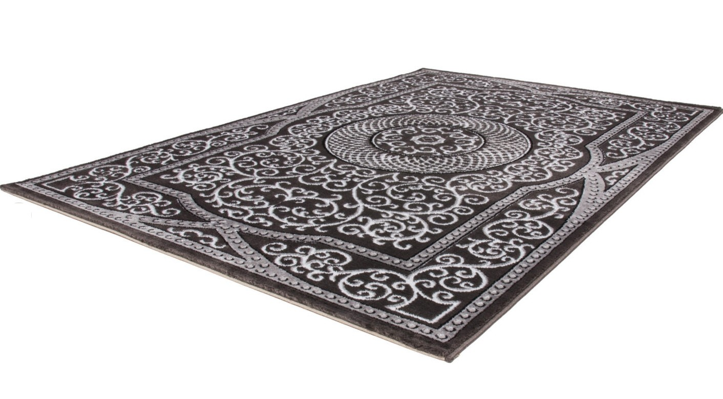 Grand tapis gris pas cher maison design Grand tapis clair