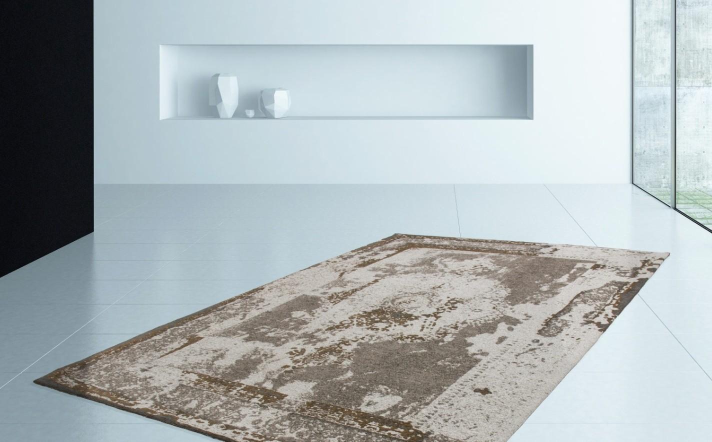 tapis design contemporain brown tivoli pas cher. Black Bedroom Furniture Sets. Home Design Ideas