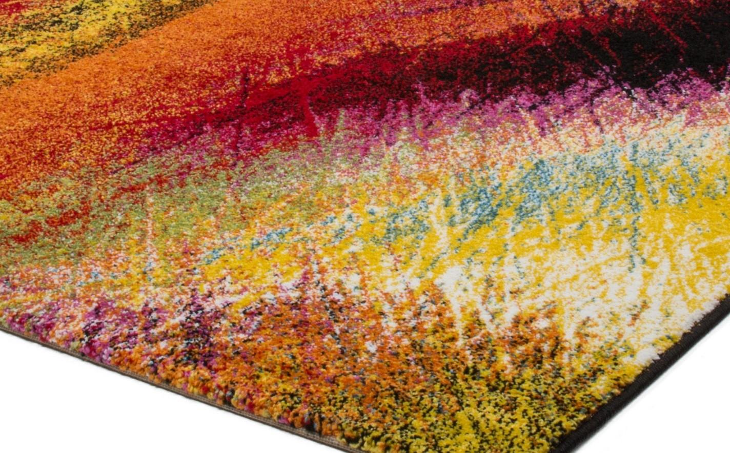 tapis design pour salon moderne multicolore south pas cher. Black Bedroom Furniture Sets. Home Design Ideas