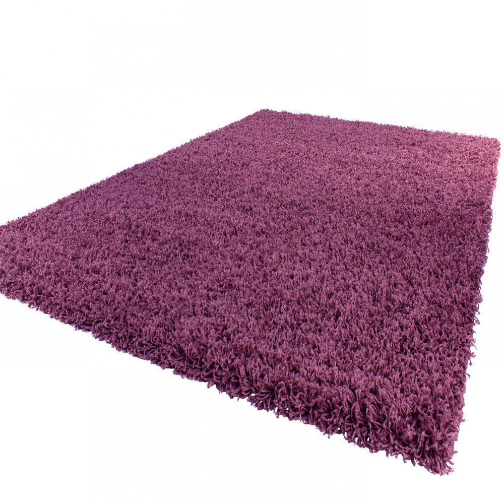 tapis shaggy uni en polypropyl ne ethan. Black Bedroom Furniture Sets. Home Design Ideas