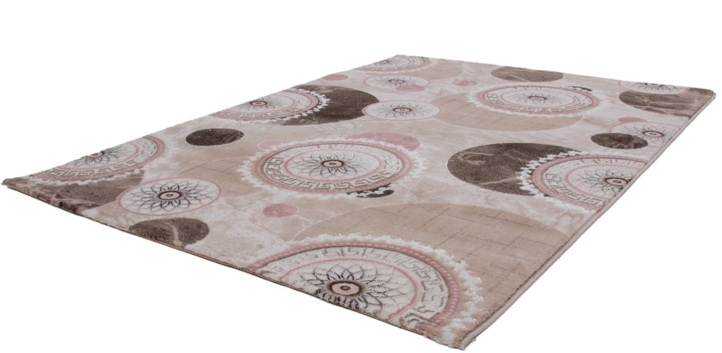 Awesome tapis salon contemporain rose contemporary for Tapis anti salissure pas cher