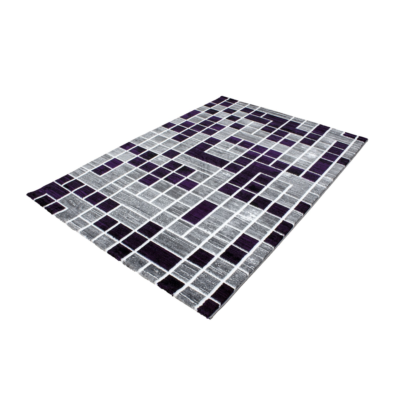tapis de salon en polypropyl ne violette neo pas cher. Black Bedroom Furniture Sets. Home Design Ideas