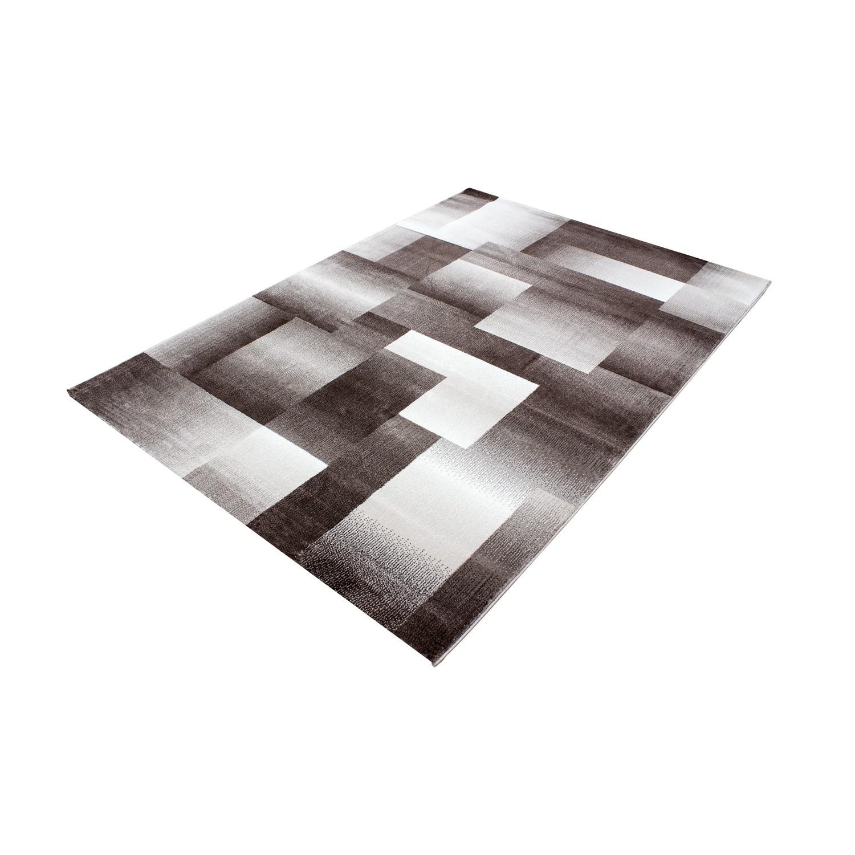 tapis design moderne coloris brun chic. Black Bedroom Furniture Sets. Home Design Ideas