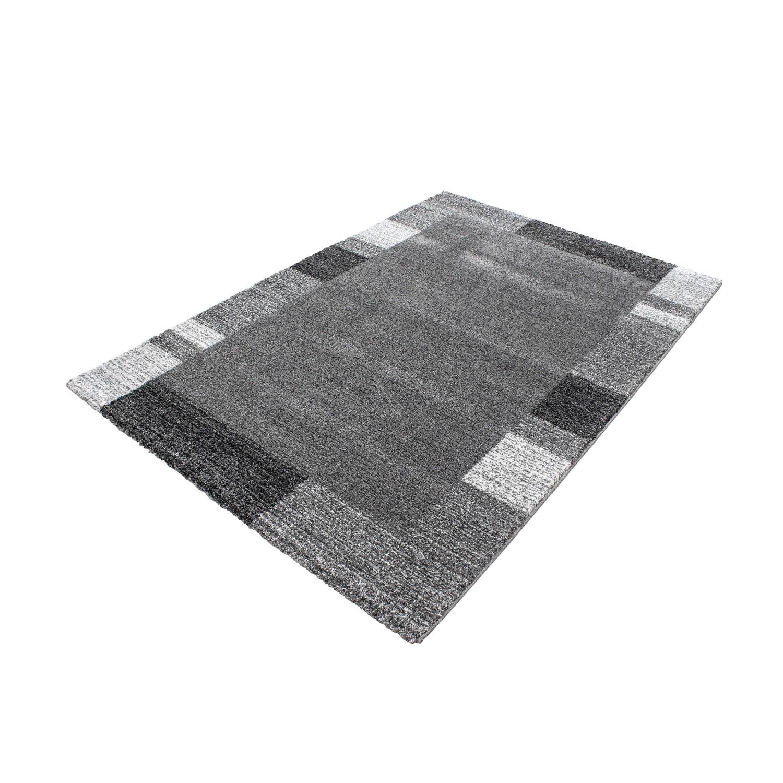 tapis plat rectangle uni gris alvin pas cher. Black Bedroom Furniture Sets. Home Design Ideas
