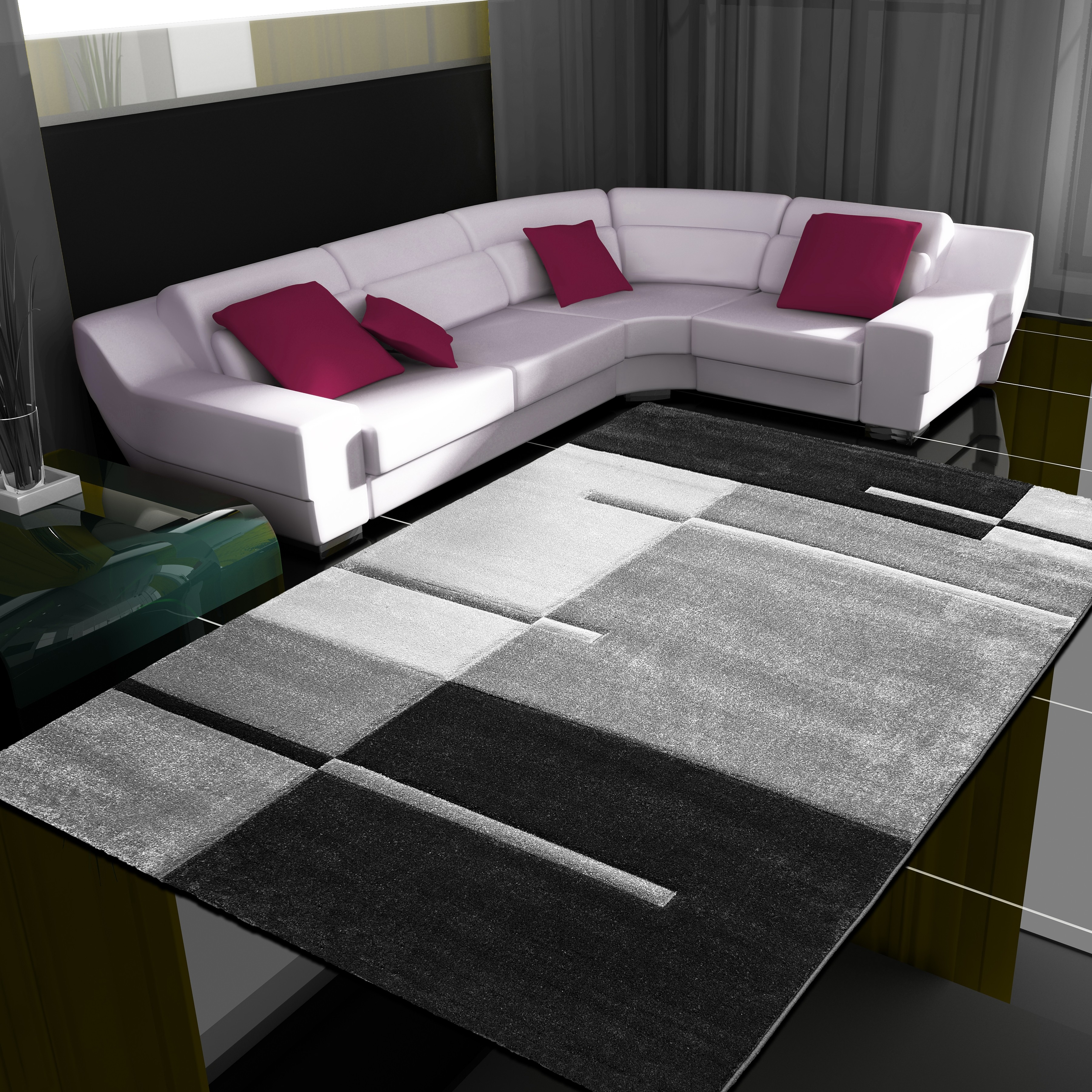 tapis fris e effet 3d design moderne harlequin. Black Bedroom Furniture Sets. Home Design Ideas