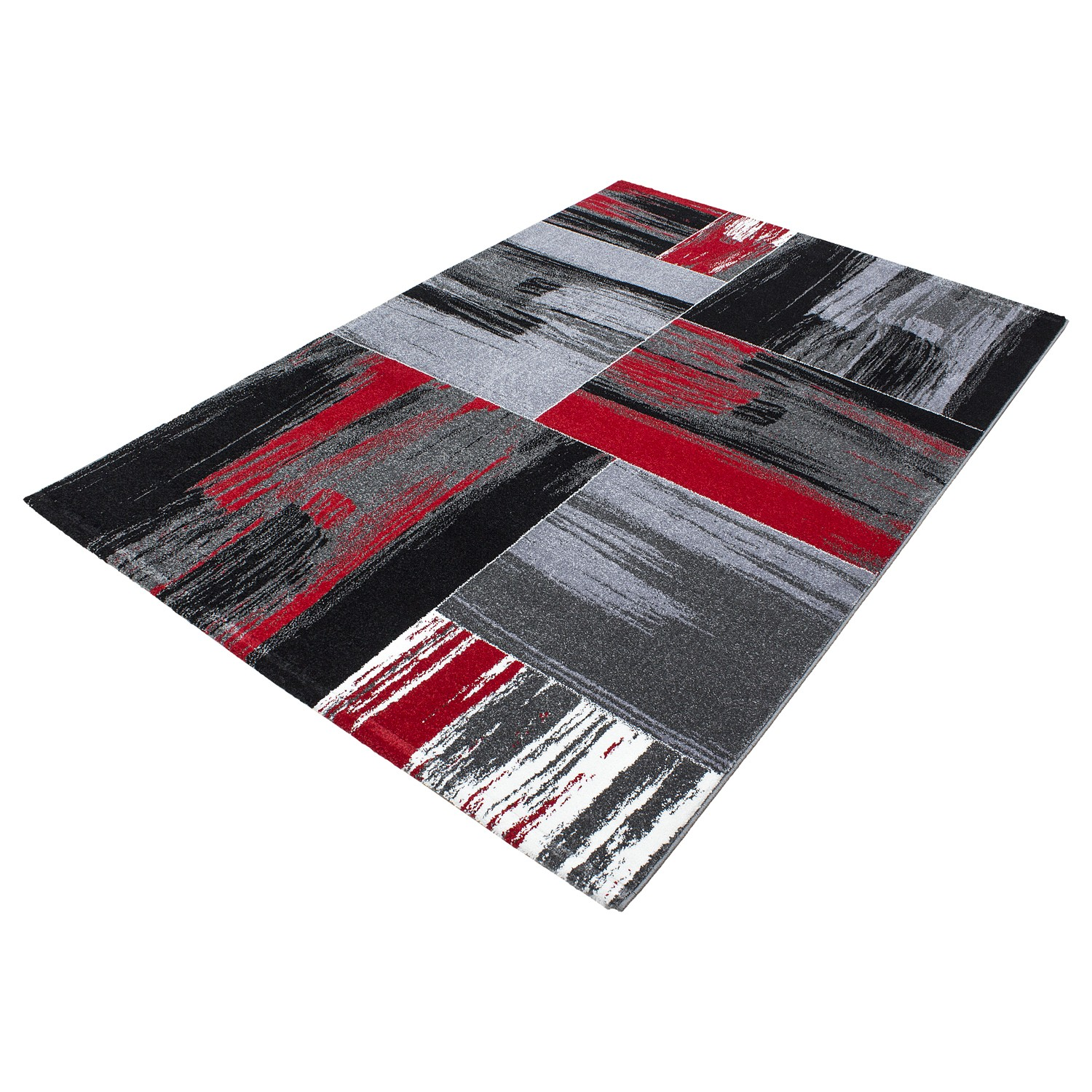 tapis vintage rouge pour salon crystal. Black Bedroom Furniture Sets. Home Design Ideas