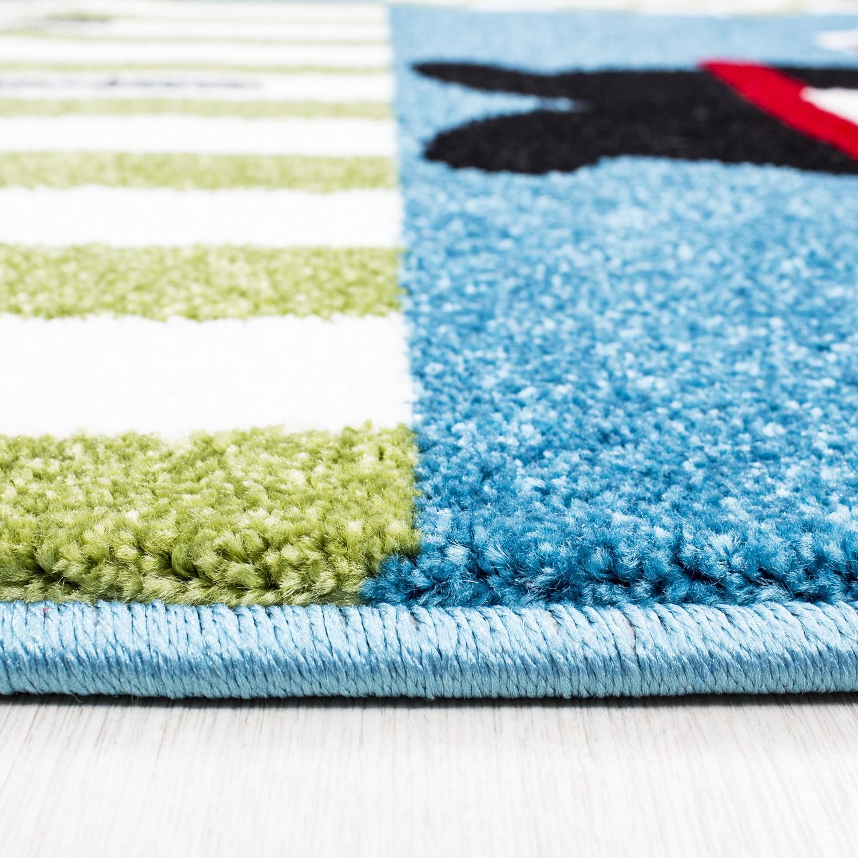 tapis pour gar on cr me et bleu pirate. Black Bedroom Furniture Sets. Home Design Ideas