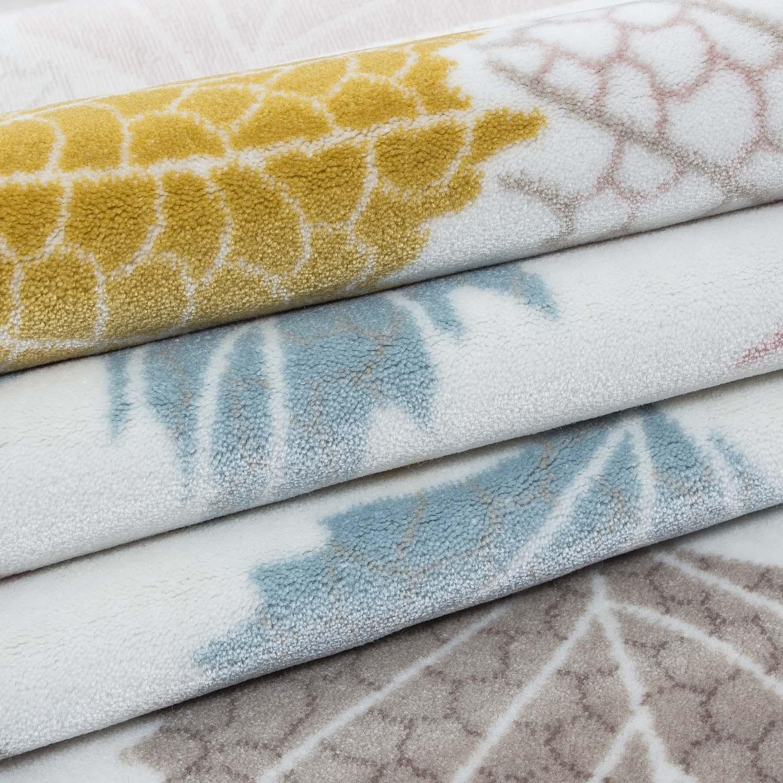 tapis vintage en acrylique multicolore elina 2 pas cher. Black Bedroom Furniture Sets. Home Design Ideas