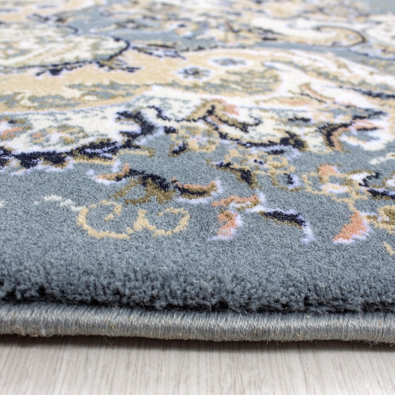 tapis courtes m che orientaux blue kairouan 2 pas cher. Black Bedroom Furniture Sets. Home Design Ideas