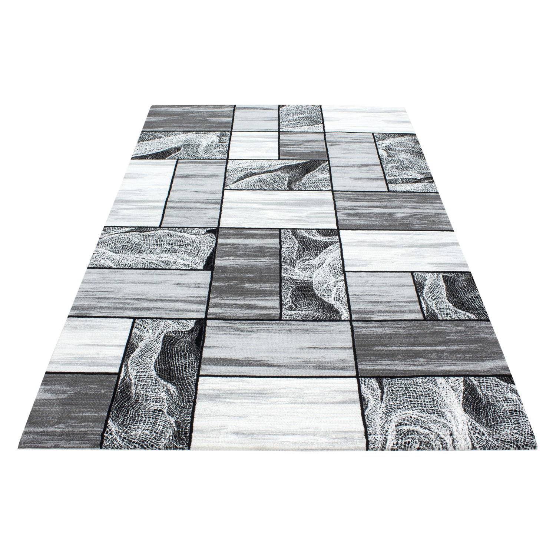 Tapis de salon gris en acrylique original samba 2 pas cher - Tapis original pas cher ...