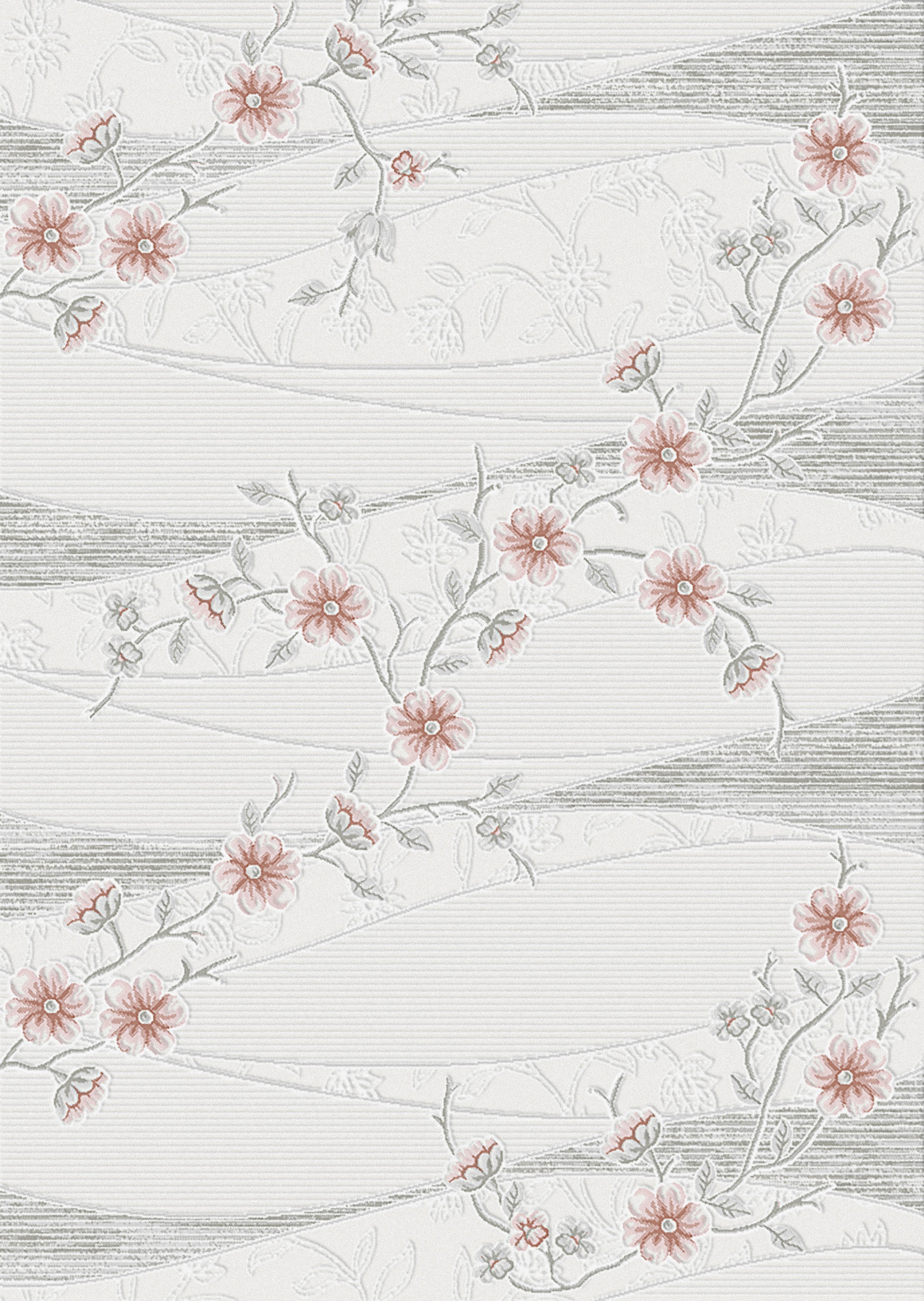 tapis vintage rose avec lurex et effet 3d lilo 5pas cher. Black Bedroom Furniture Sets. Home Design Ideas