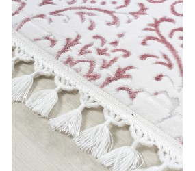 Tapis Optic Cosy Blanc, Fibres synthétiques, Vintage / Patchwork, Style Patchwork & Vintage, Tapis poils ras