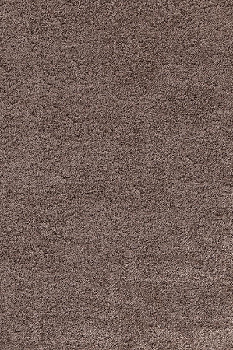Tapis Shaggy Brun Clair Moderne Tapis Design Uni En Polypropylene Vasco