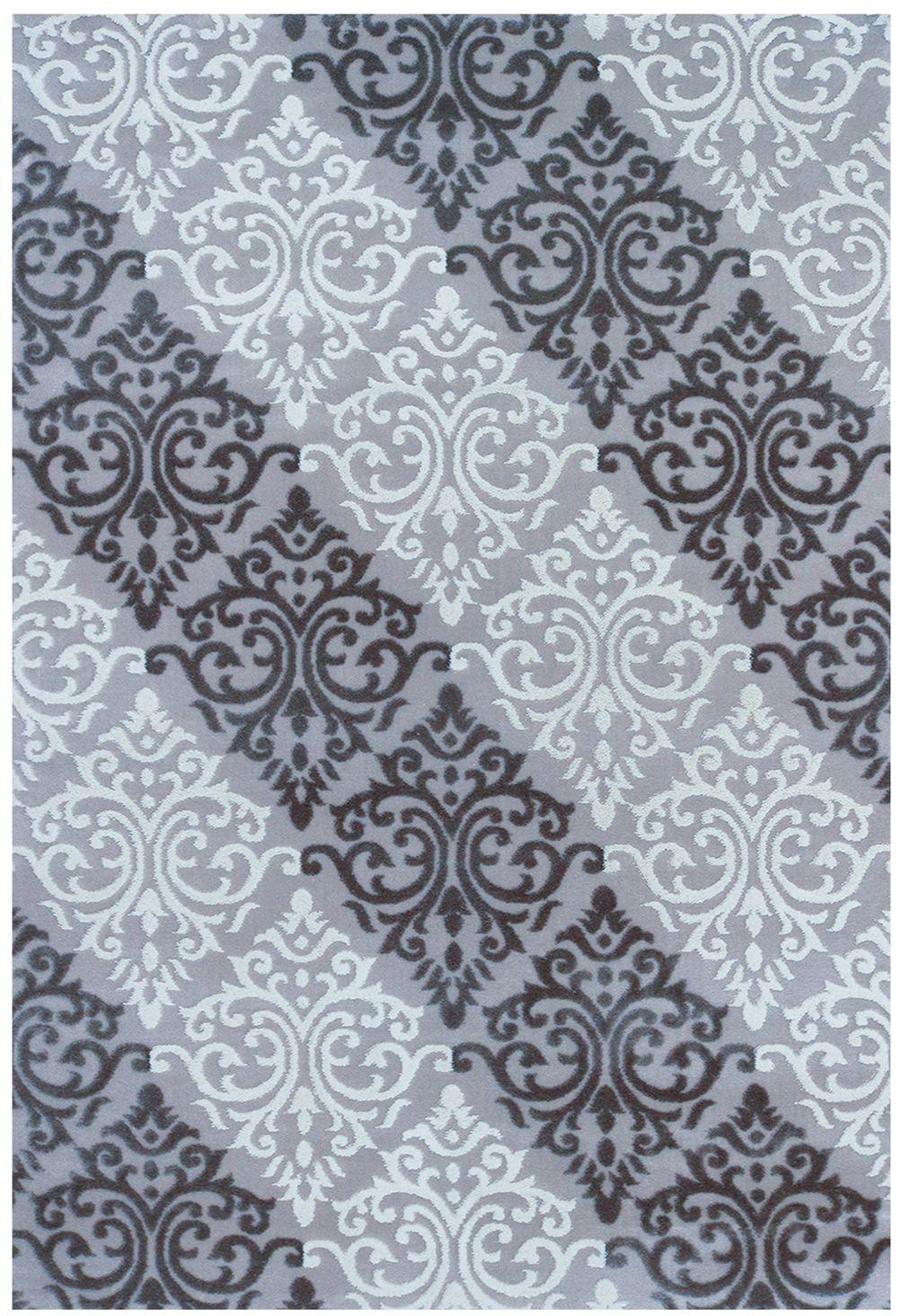 tapis en acrylique contemporain gris glitter 10. Black Bedroom Furniture Sets. Home Design Ideas