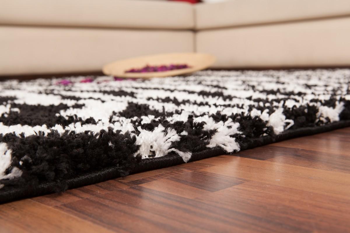 tapis shaggy design z bre jiva. Black Bedroom Furniture Sets. Home Design Ideas