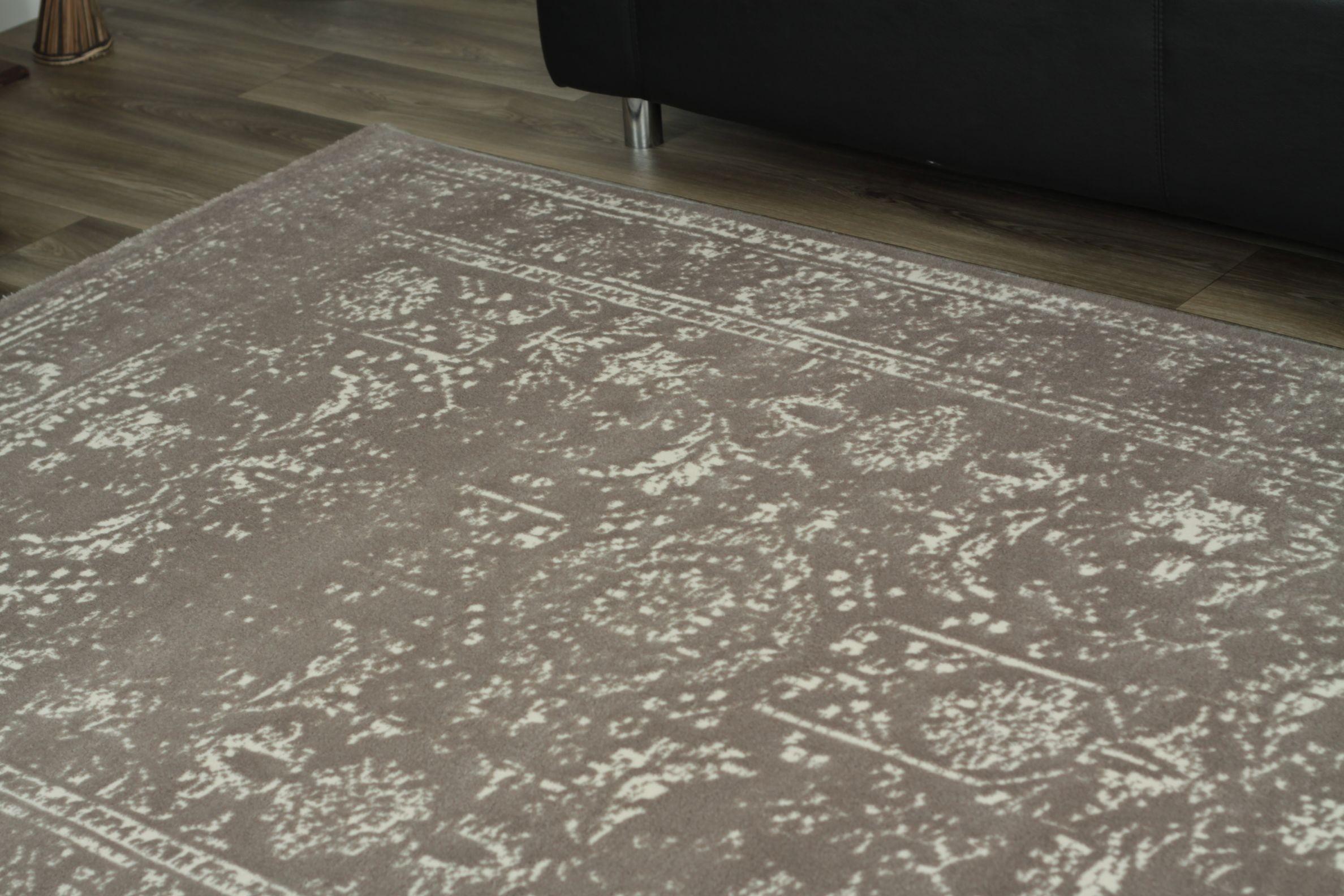 tapis en acrylique contemporain silver gris stripes 7. Black Bedroom Furniture Sets. Home Design Ideas