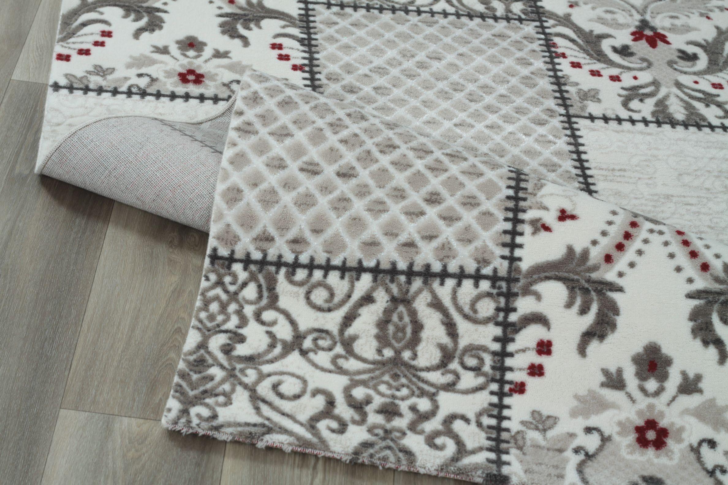 tapis en acrylique baroque contemporain batik 4