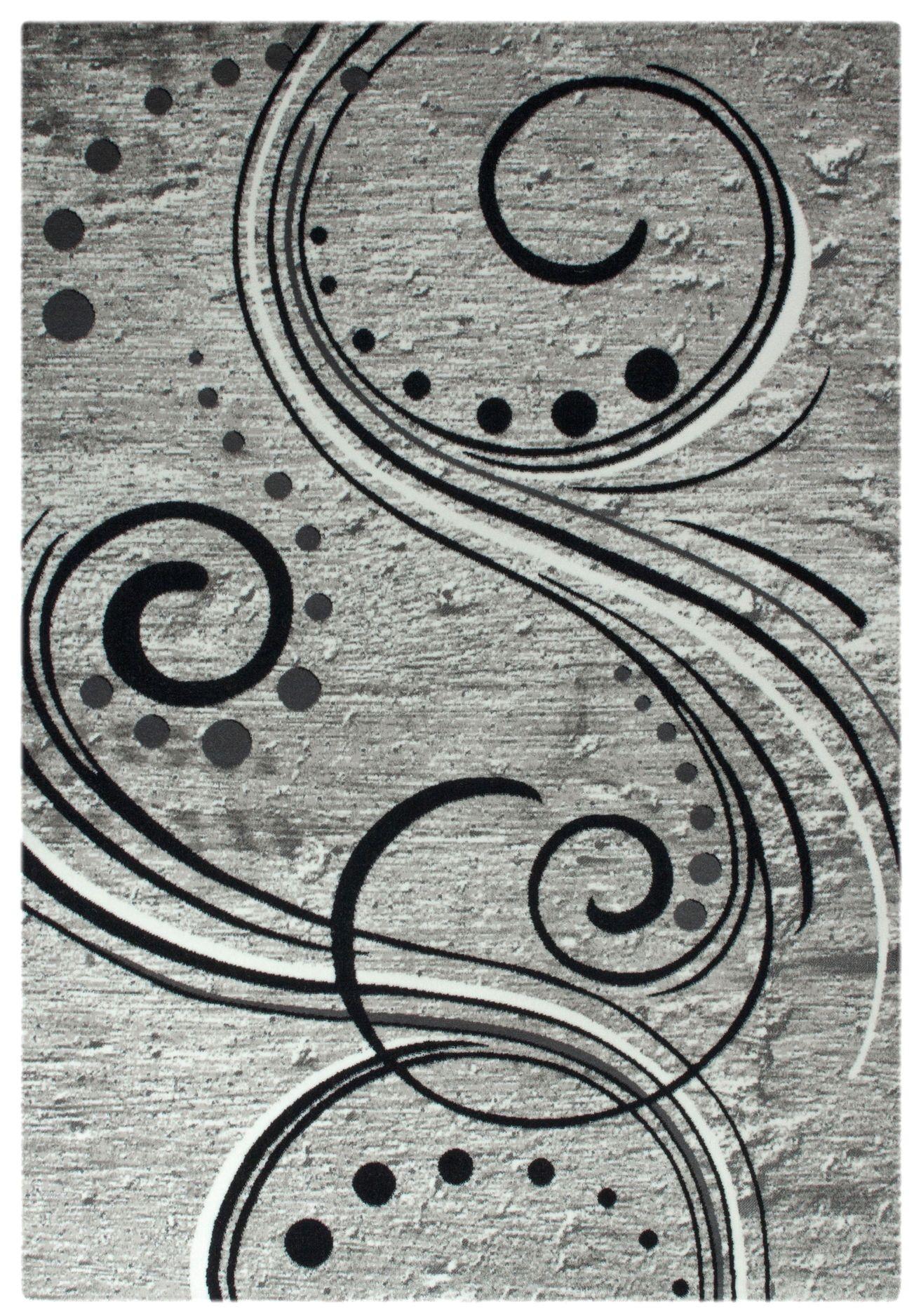 Tapis de salon design en acrylique moderne nevio 9