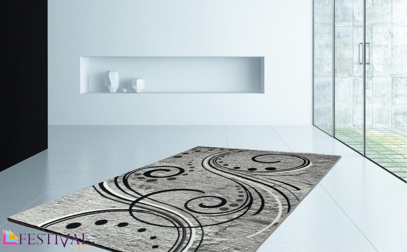 tapis de salon design en acrylique moderne nevio 9. Black Bedroom Furniture Sets. Home Design Ideas