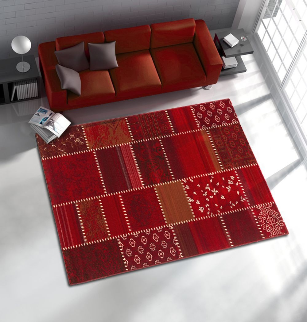 tapis contemporain tapis design contemporain tapis contemporain pas cher tapis salon contemporain - Tapis De Salon Rouge