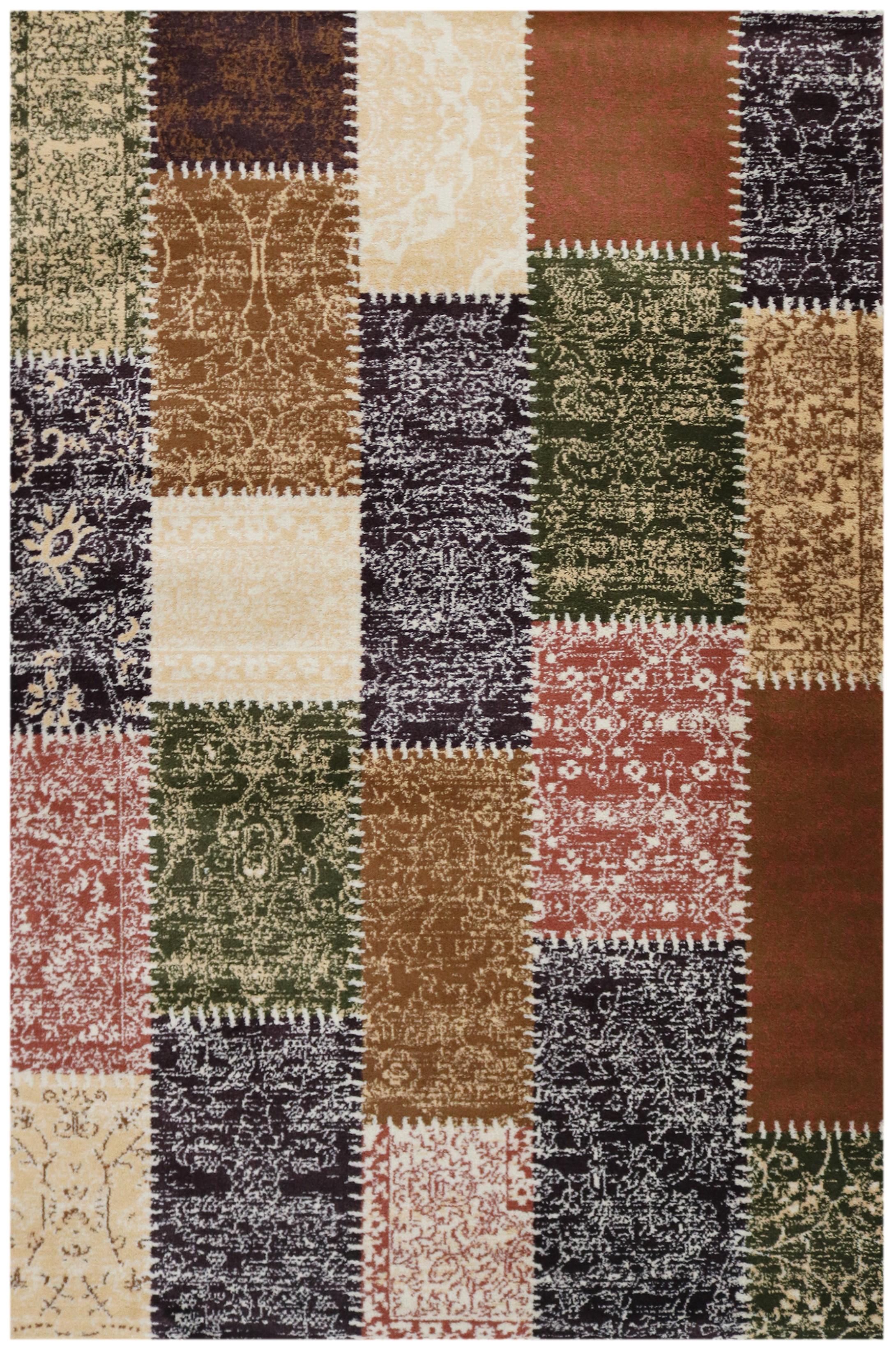 tapis pour salon lila patchwork aqua. Black Bedroom Furniture Sets. Home Design Ideas