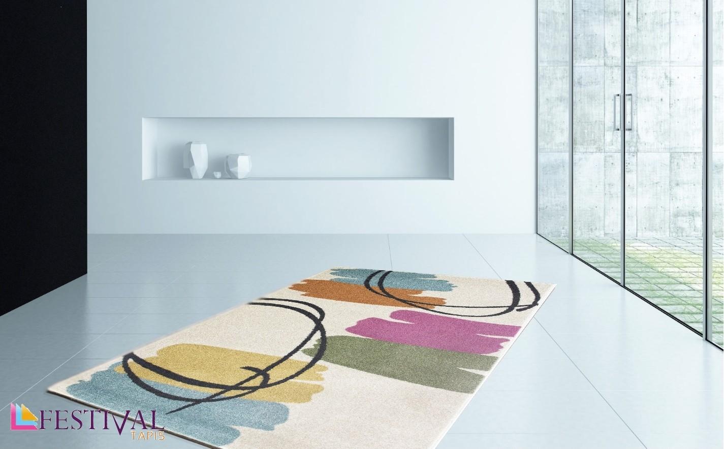 tapis designer tiss plat d coratif 100 polypropylene broth 2. Black Bedroom Furniture Sets. Home Design Ideas