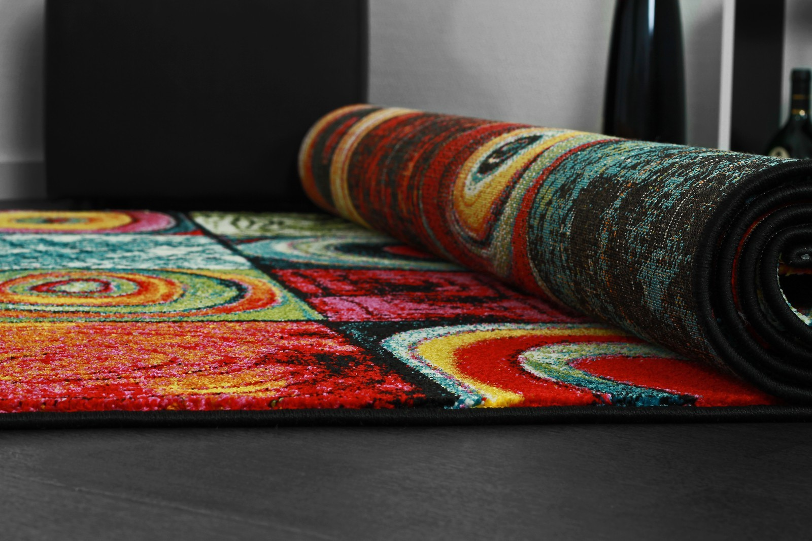tapis multicolore tapis shaggy pas cher tapis oriental tapis salon pas cher - Tapis Multicolore