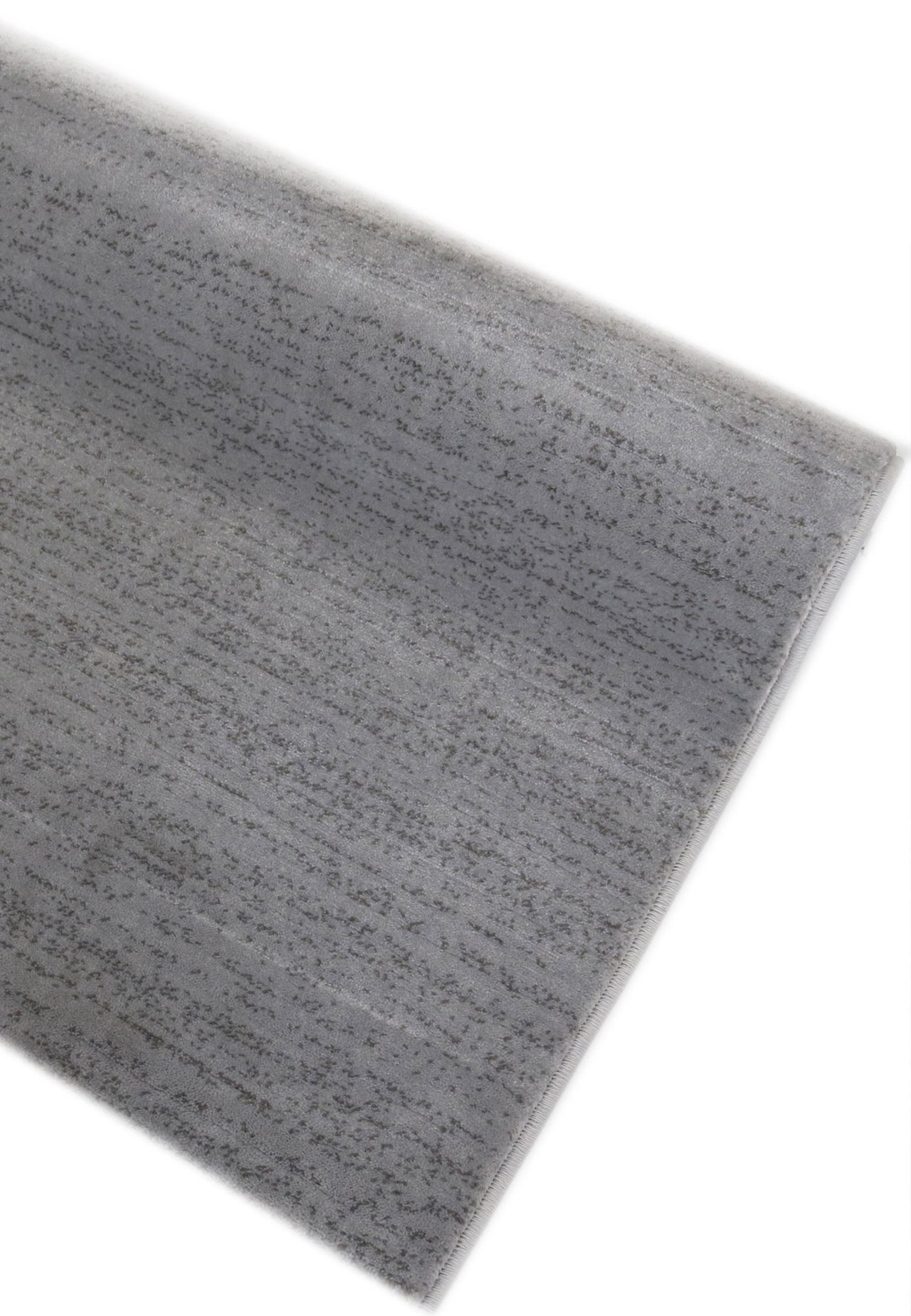 Tapis a poils courts moderne gris clair soft universal for Tapis gris poil court