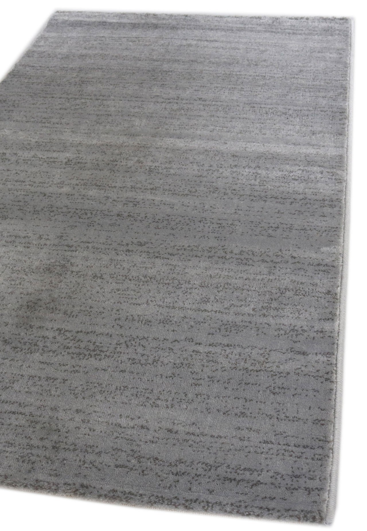 Tapis poils courts moderne gris clair soft universal Grand tapis clair