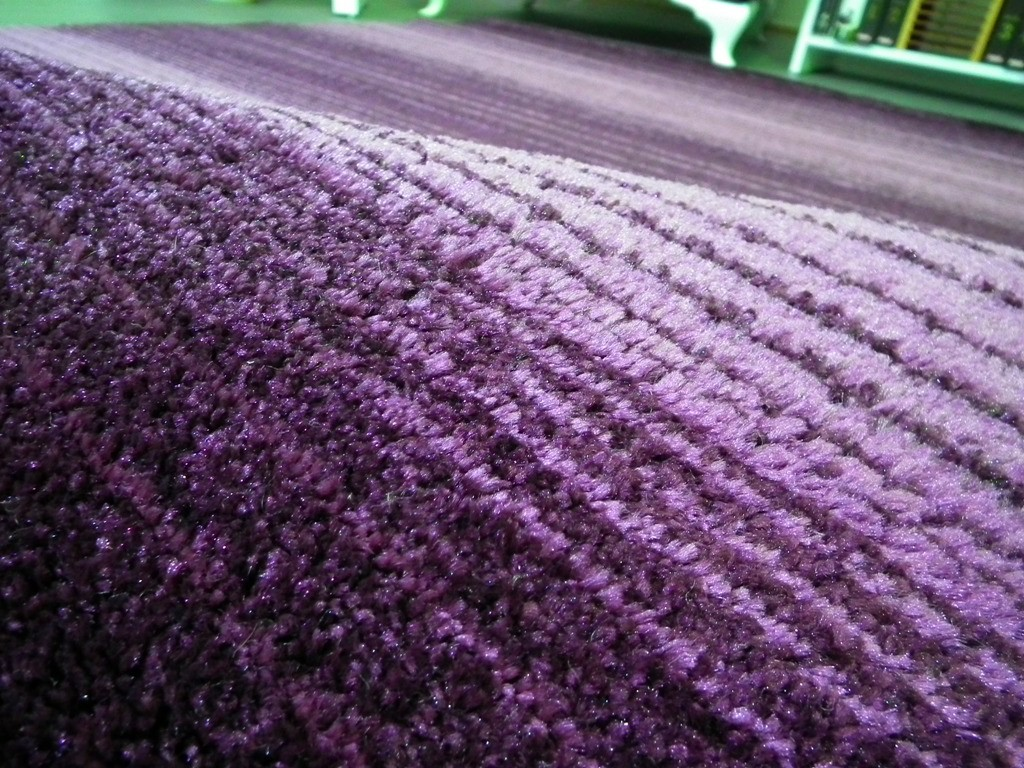 Tapis Uni Violette Lila Longues M Ches Grande Salon D