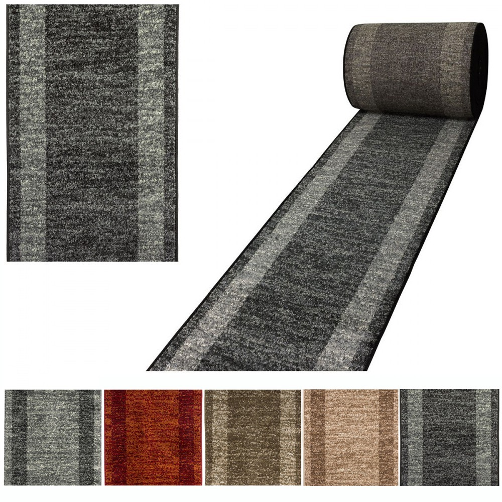 Tapis look contemporain grande salon d 39 entr e couloir loures - Tapis de couloir ikea ...