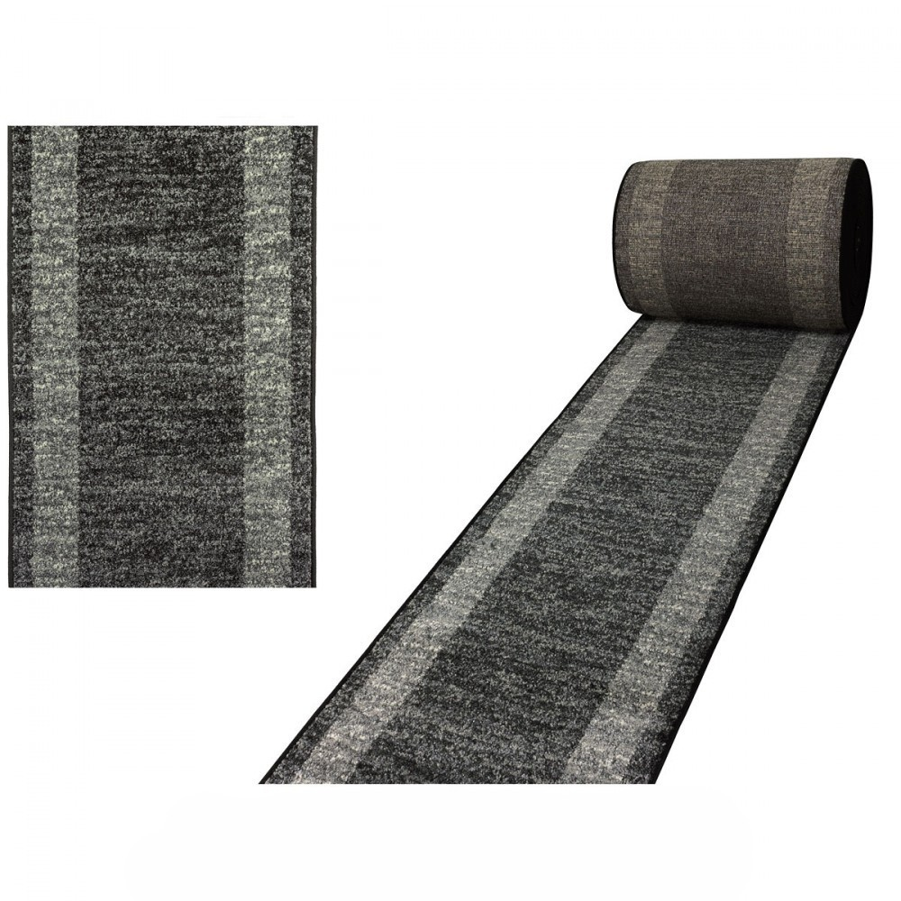 tapis en gris fonc look contemporain grande salon d. Black Bedroom Furniture Sets. Home Design Ideas
