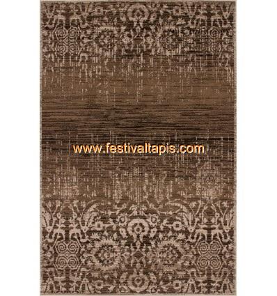 Tapis coloris caramel Patchwork de style vintage grand tapis pas cher, tapis grande taille pas cher, grand tapis gris pas cher,