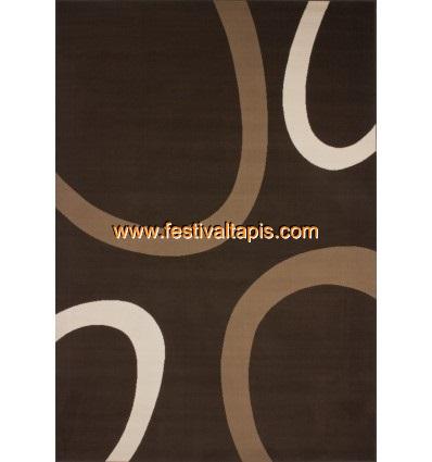 Tapis contemporain de couleur marron grand tapis pas cher, tapis grande taille pas cher, grand tapis gris pas cher, grand tapis