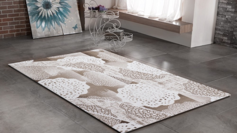 tapis de salon design grand tapis salon tapis salon moderne tapis design salon - Tapis Beige