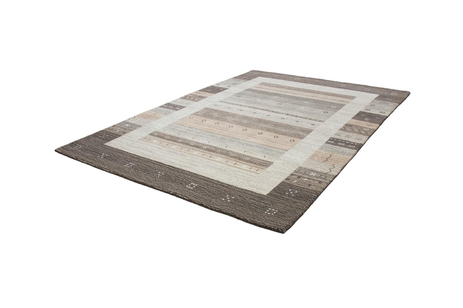 tapis 100 laine fait la main naturel coloris gris mikado 2. Black Bedroom Furniture Sets. Home Design Ideas