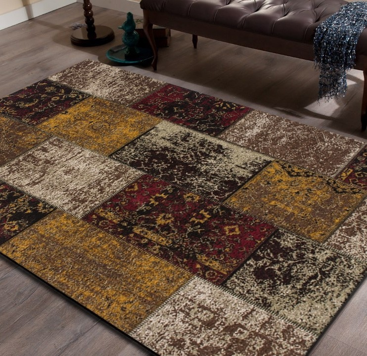 beautiful tapis marron et rouge images awesome interior home satellite. Black Bedroom Furniture Sets. Home Design Ideas