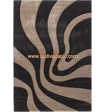 Tapis moderne design marron beige,tapis moderne gris,tapis moderne design pas cher,tapis salon moderne pas cher
